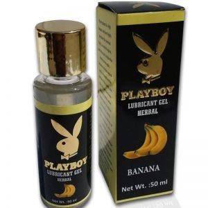 PlayBoy Herbal Lubricant Gel – Banana Flavour