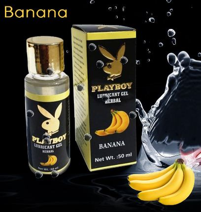 PlayBoy Herbal Lubricant Gel – Banana