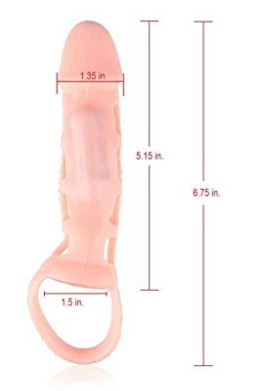 Flesh Stretchy Vibrating Male Penis Extension Extender Sleeve   Sex toy In India   Sex Toy In Haryana   Sex Toy In Chandigarh  Sex Toys For Men   Adulttoys-india   Dick Sleeve Vibration  Dick Sleeve In India   Dick Sleeve In Haryana   Dick Sleeve In Chandigarh   Dick Sleeve For Men   Dick Extender For Boys   Adultproductsindia