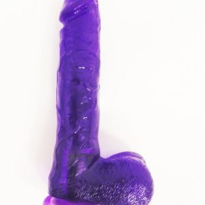 Jelly Purple Dildo |Head Rotated Vibrator |Vibration Dildo|Sex Toys For Women|Sex Toys India|Female Sex Toys |Dildo Vibrator|Strap On Dildo India|adulttoys-india.com